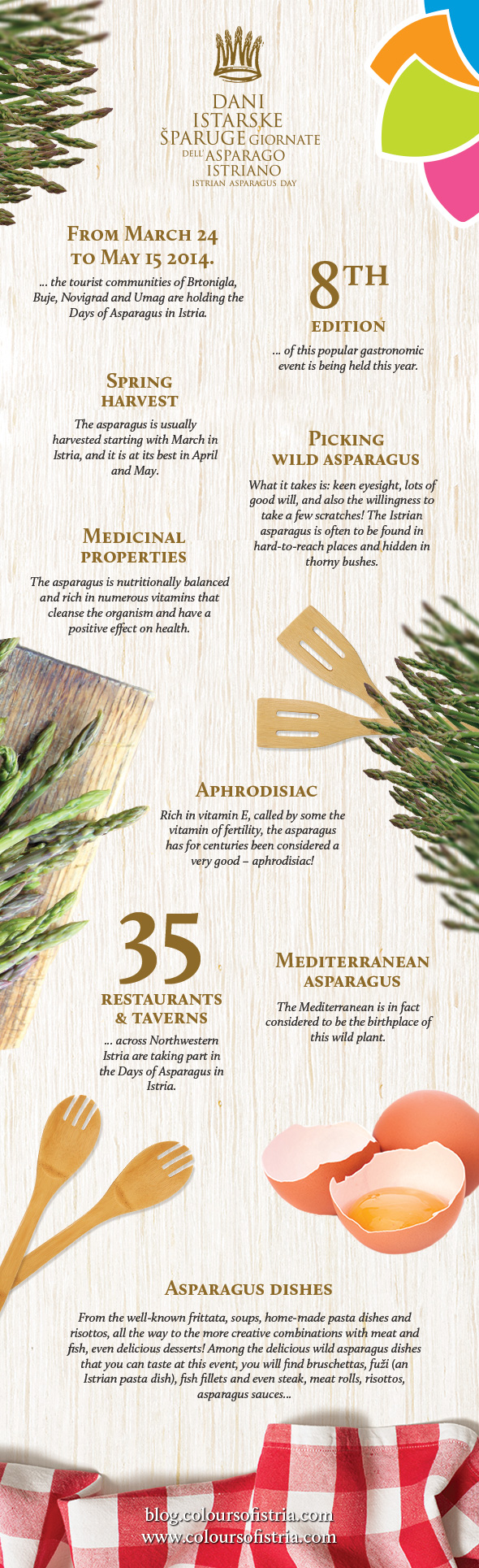8th Days of Istrian Asparagus