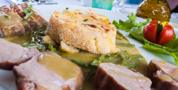 Asparagus pork