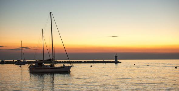 Novigrad-Istria-Sunset