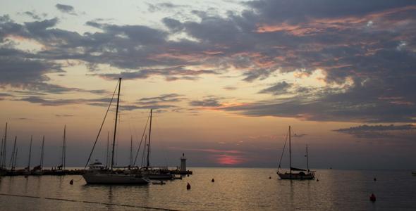 Novigrad_Sunset
