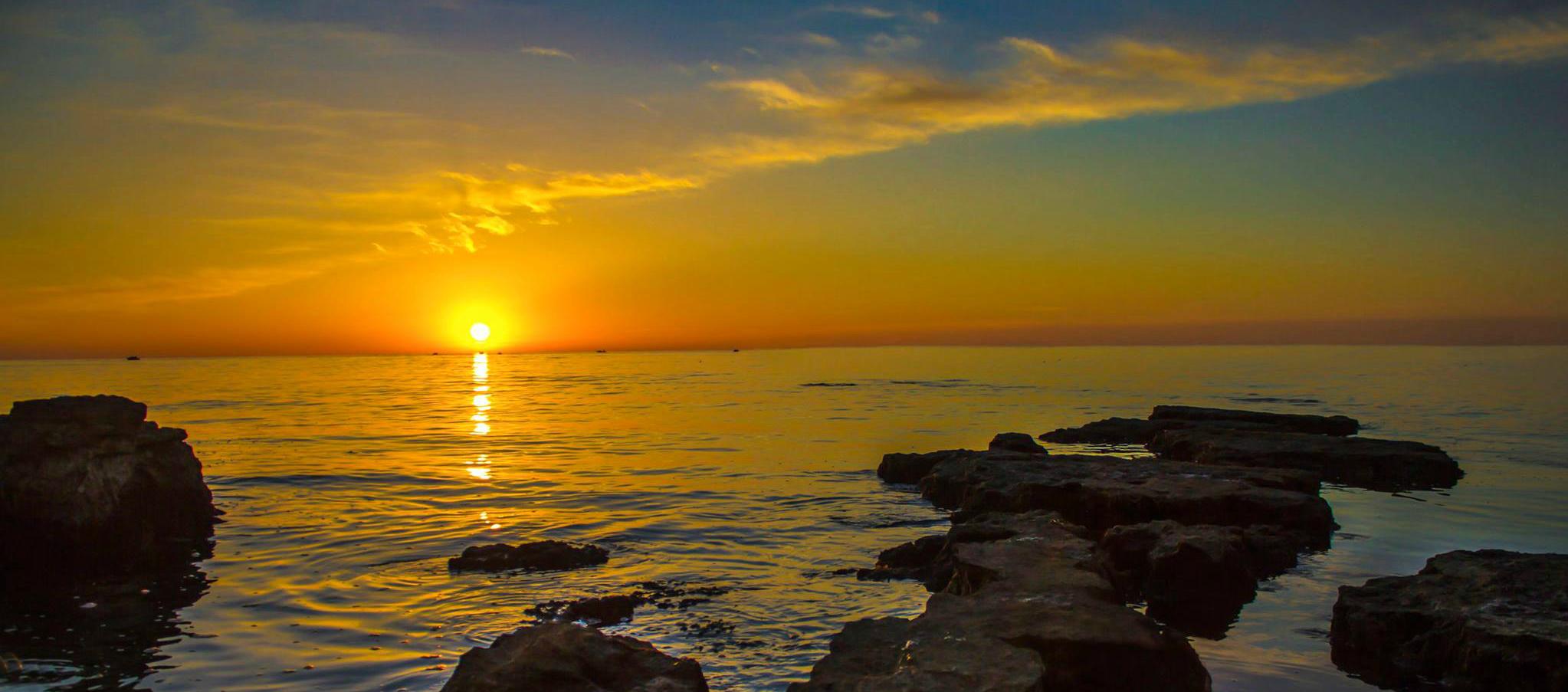 Sun_NW_Istria_Croatia
